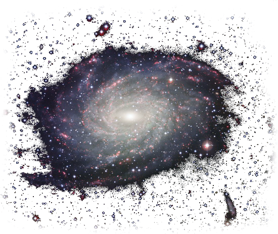 FreeToEdit clipart png stars galaxy spiral with a trans...