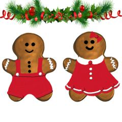 freetoedit dailyremixmechallenge gingerbread red christmas