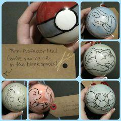pokéballs pokemon christmas gifts diy