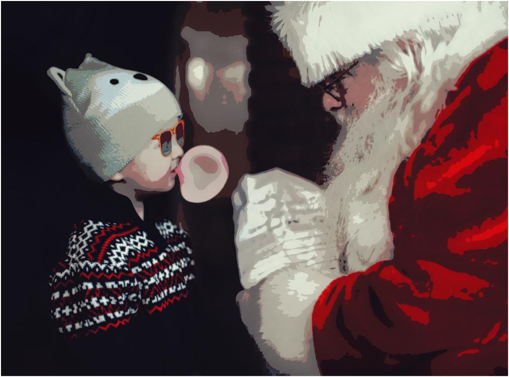 #FreeToEdit  #myedit  #popart  #santaclaus