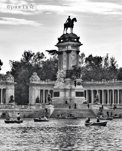 photography blackandwhite madrid spain parquedelretiro