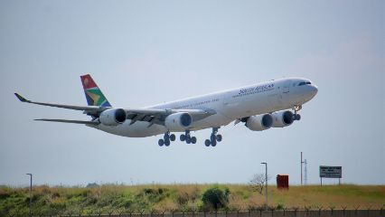 a340 planes photography southafrica