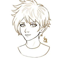 draw drawing art lineart manga freetoedit