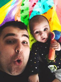 freetoedit colorblocked interesting selfie