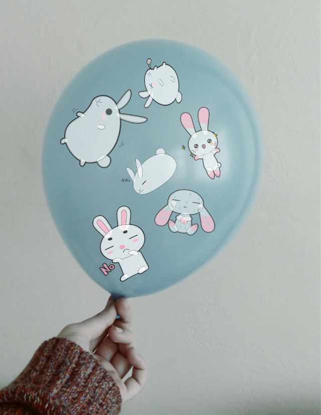 #FreeToEdit  hey guys so I am gonna give a shoutout since the last one wasn't very successful so the first one 2 guess my star sign gets a shoutout😄😄 #bunny  #balloon  #remixed  #freetoeditedited  #bunnies  #bunnylove  #bunnygirl