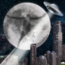 wapufosighting editstepbystep moon shadow manipulation