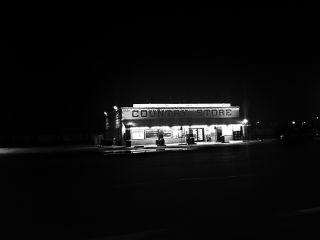 california night photography nighttime blackandwhite freetoedit