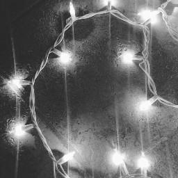 blackandwhite aesthetic grunge softgrunge lights freetoedit