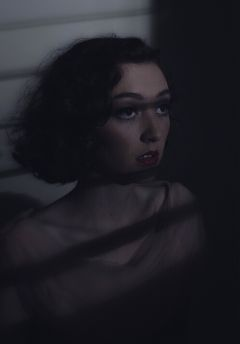 girl model mood eerie cinematic