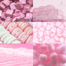 freetoedit aesthetic pink candy