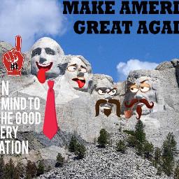 presidentsday freetoedit presidentialfun presidents makeamericagreatagain