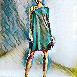 freetoedit girl girlpower colorsplash colorful