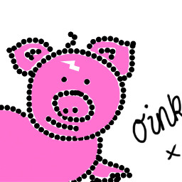 wdppiggie pink oink piggy drawingtools picsartdrawing pinkpig cutenessoverload voteformeplz