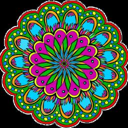 colorful mandala FreeToEdit