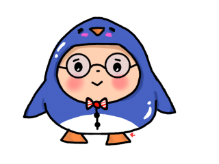 penguin penguinstickers cute blue my freetoedit