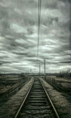 freetoedit railroad landscape sky heaven