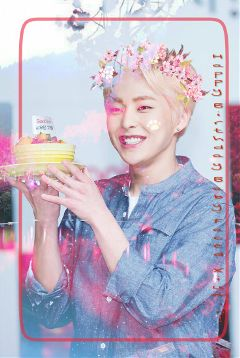 freetoedit happybirthdayxiumin happyxiuminday spring