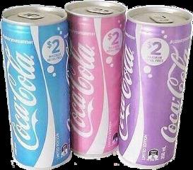 coca pink blue purple freetoedit