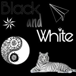 blackandwhite black white freetoedit