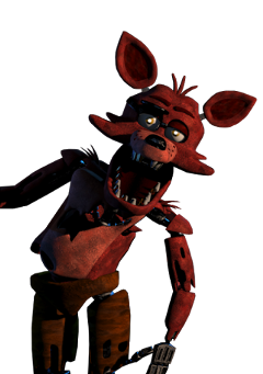sticker fnaf foxy freetoedit