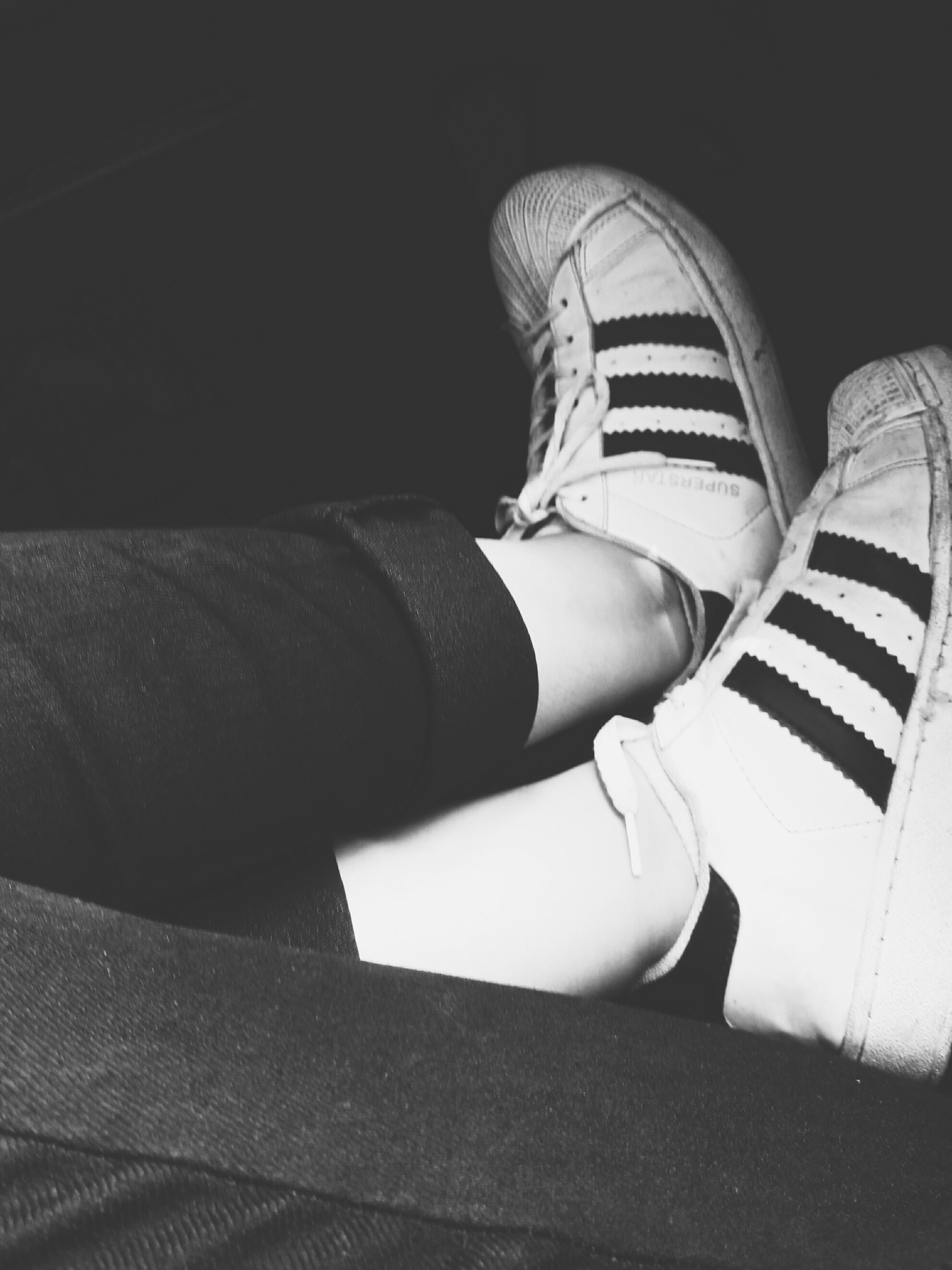 ⚪ADIDAS⚫ adidas adidassuperstar tumblr love l4l black